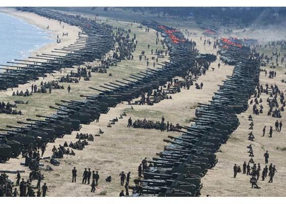 Can canh lanh dao Trieu Tien Kim Jong-un thi sat tap tran hinh anh 6