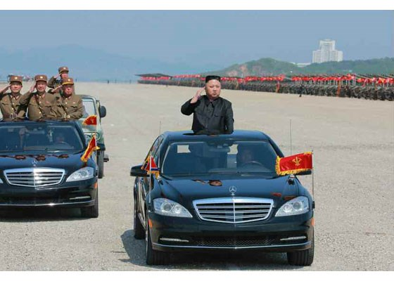 Can canh lanh dao Trieu Tien Kim Jong-un thi sat tap tran hinh anh 5