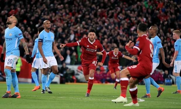 Champions League: Liverpool de bep Man City, Barcelona ha dam Roma hinh anh 1