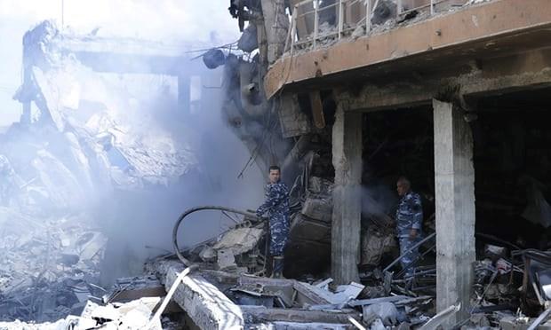 Syria: Hinh anh do nat tai trung tam nghien cuu khoa hoc bi khong kich hinh anh 3