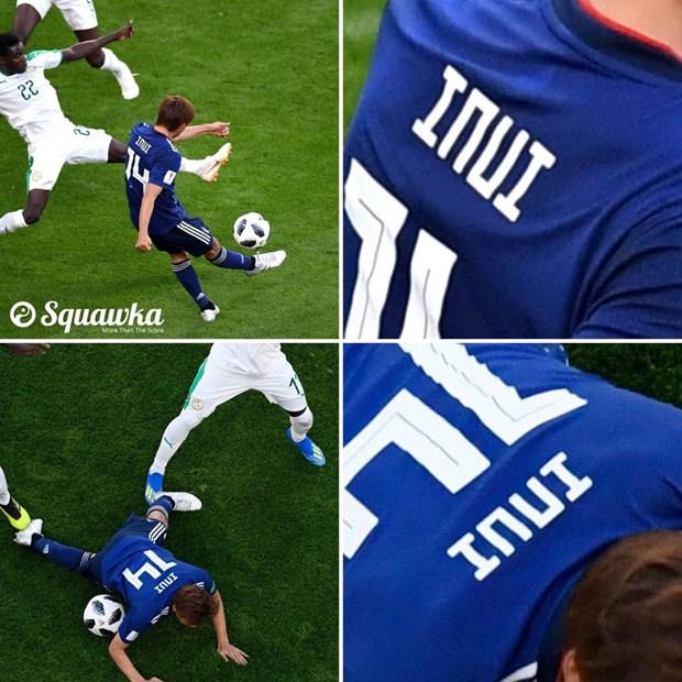 Nguoi hung Inui cua Nhat Ban co ten doc dao nhat World Cup 2018 hinh anh 1