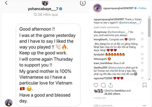 Tuyen thu Phap Cabaye gui tin nhan chuc Quang Hai toa sang o Asian Cup hinh anh 2