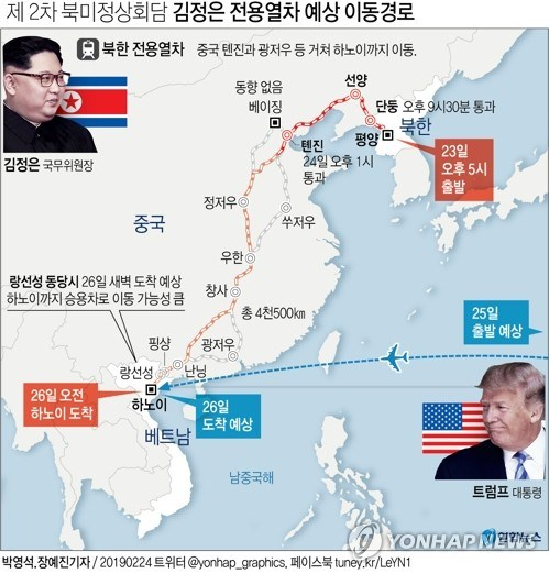 Truc tiep: Chu tich Trieu Tien Kim Jong-un da ve khach san Melia hinh anh 3