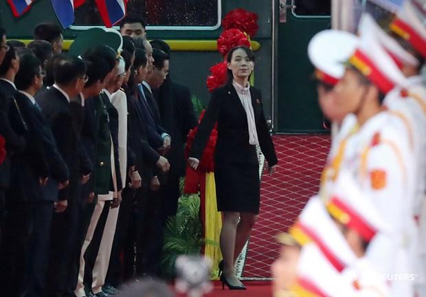Truc tiep: Chu tich Trieu Tien Kim Jong-un da ve khach san Melia hinh anh 51