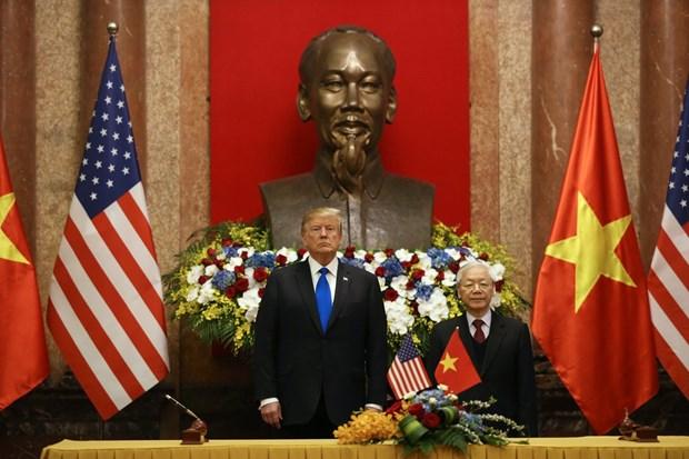 Ong Trump khen ong Kim trong cuoc gap dau tien o Metropole hinh anh 22