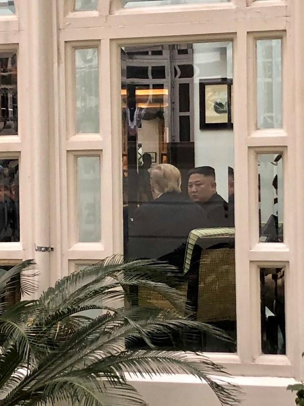 Thuong dinh My-Trieu khong co thoa thuan, ong Trump roi Ha Noi hinh anh 40