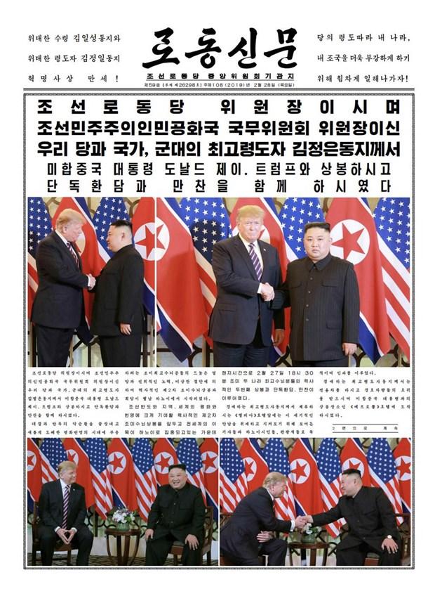 Thuong dinh My-Trieu khong co thoa thuan, ong Trump roi Ha Noi hinh anh 43