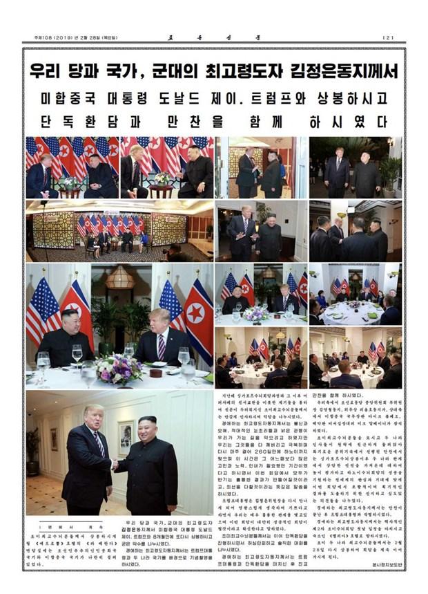 Thuong dinh My-Trieu khong co thoa thuan, ong Trump roi Ha Noi hinh anh 42