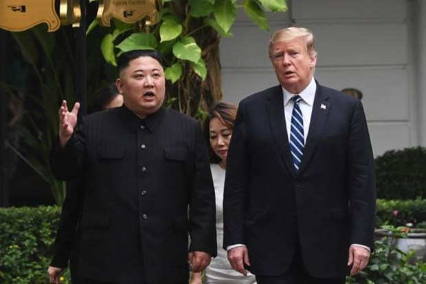 Thuong dinh My-Trieu khong co thoa thuan, ong Trump roi Ha Noi hinh anh 45