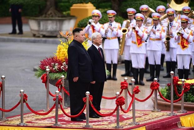 Le don Chu tich Trieu Tien Kim Jong-un tai Phu Chu tich hinh anh 9
