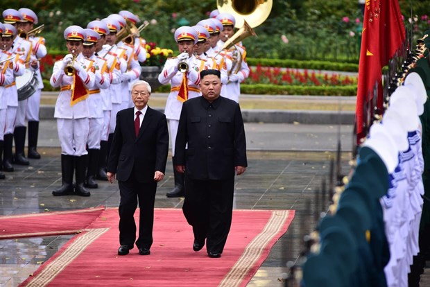 Le don Chu tich Trieu Tien Kim Jong-un tai Phu Chu tich hinh anh 8