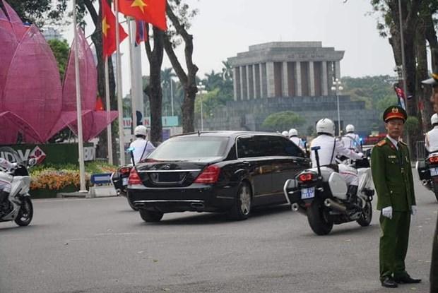 Le don Chu tich Trieu Tien Kim Jong-un tai Phu Chu tich hinh anh 12