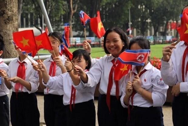 Le don Chu tich Trieu Tien Kim Jong-un tai Phu Chu tich hinh anh 6
