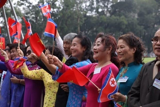 Le don Chu tich Trieu Tien Kim Jong-un tai Phu Chu tich hinh anh 7