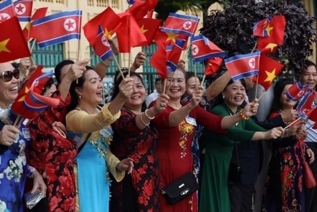 Le don Chu tich Trieu Tien Kim Jong-un tai Phu Chu tich hinh anh 4