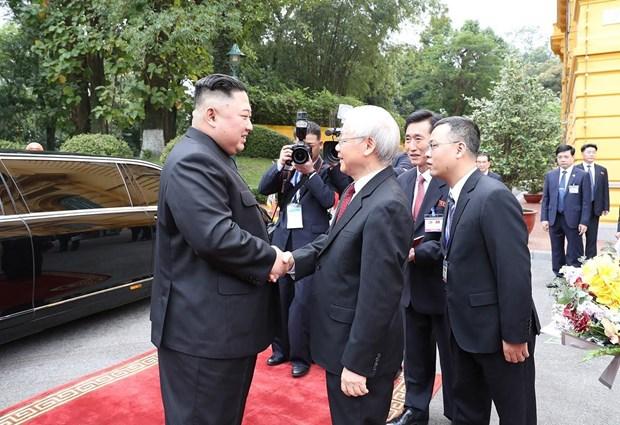 Le don Chu tich Trieu Tien Kim Jong-un tai Phu Chu tich hinh anh 3