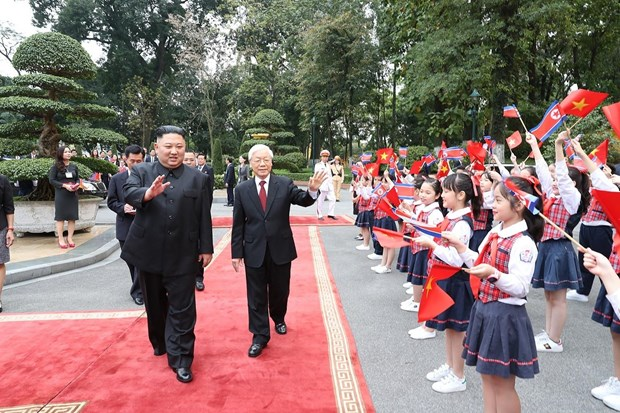Le don Chu tich Trieu Tien Kim Jong-un tai Phu Chu tich hinh anh 2