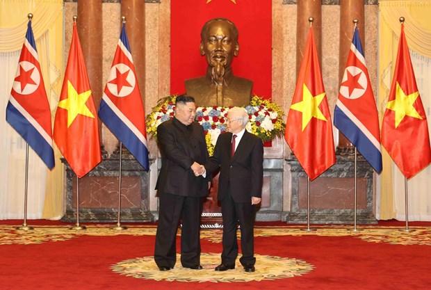Le don Chu tich Trieu Tien Kim Jong-un tai Phu Chu tich hinh anh 1