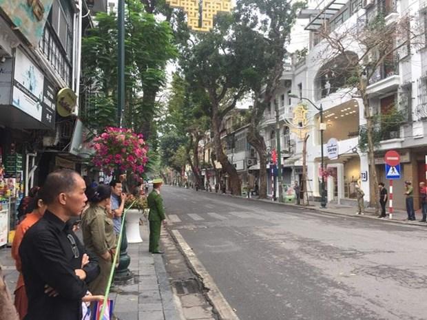 Truc tiep: Chu tich Trieu Tien Kim Jong-un roi Viet Nam hinh anh 8