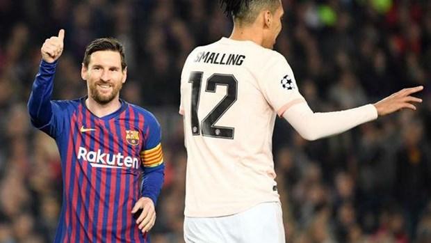 Can canh Messi va Coutinho pha luoi M.U dua Barca vao ban ket hinh anh 1