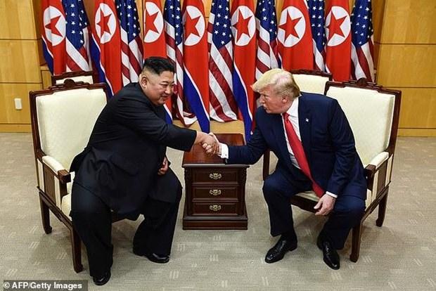[VIDEO] Cuộc hội đàm giữa ông Donald Trump và ông Kim Jong-un