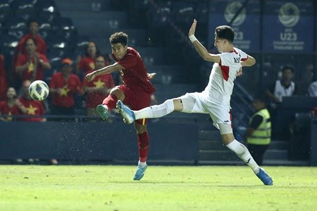 Video dien bien chinh tran U23 Viet Nam hoa U23 Jordan 0-0 hinh anh 1