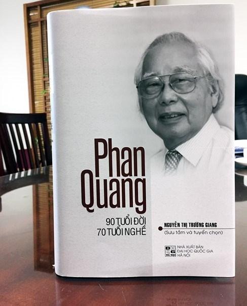 'Cay dai thu' lang bao Phan Quang: 'Lam bao phai co chat van...' hinh anh 1