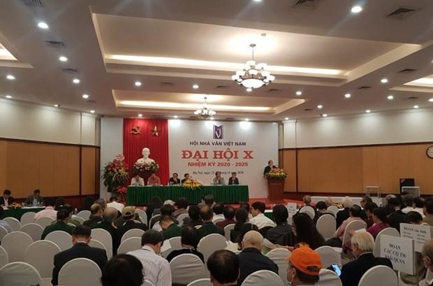 Dai hoi Hoi Nha van Viet Nam: Ky vong van hoc Viet se khoi sac hinh anh 1