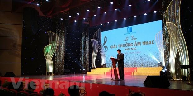Hoi nhac sy Viet Nam vinh danh 78 tac pham xuat sac cua nam 2020 hinh anh 2
