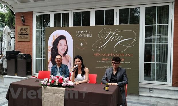Nghe sy soprano Hien Nguyen mang chat jazz vao nhac thinh phong hinh anh 1