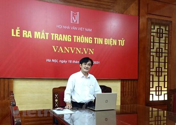 Hoi Nha van ra mat website moi, day manh quang ba van hoc Viet Nam hinh anh 1