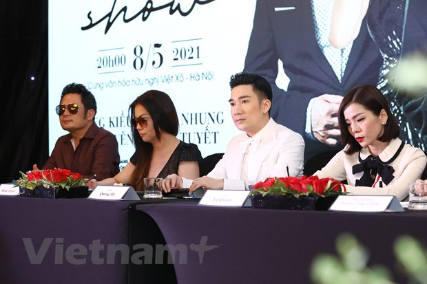 Sau su co chay san khau, Quang Ha 'dung day' lam liveshow 11 ty dong hinh anh 1