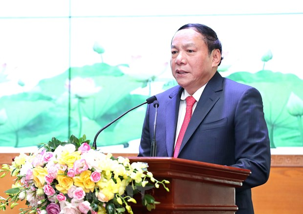 Chinh thuc ban giao nhiem vu Bo truong Bo Van hoa, The thao va Du lich hinh anh 1