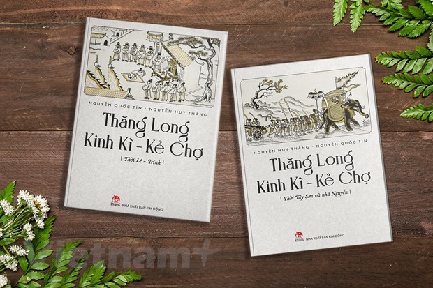 Kinh thanh Thang Long the ky 16-19 song dong trong bo sach moi hinh anh 1