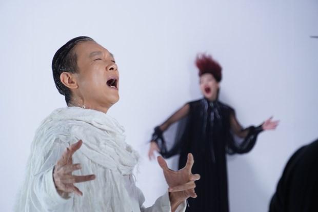 Diva Ha Tran tao dung hinh anh nu than trong MV moi sap ra mat hinh anh 1