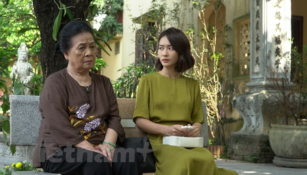 Thanh Son, Kha Ngan lan dau tien dong cap trong phim moi tren VTV3 hinh anh 2
