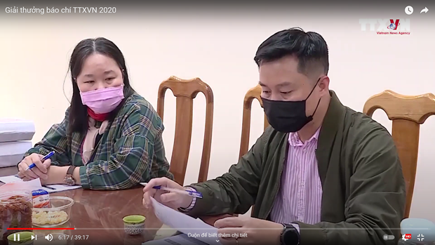Giai Bao chi TTXVN: VietnamPlus doat giai A The loai Bao dien tu hinh anh 2