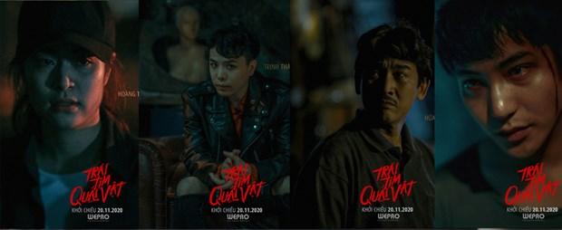 Ra mat sau Halloween, phim cua Hoang Thuy Linh van kinh di 'ra tro' hinh anh 1