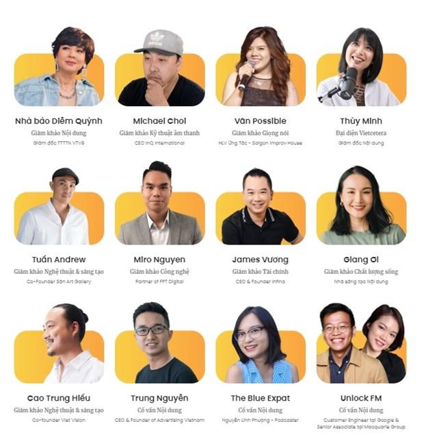 MC Diem Quynh, Giang Oi va Thuy Minh VJ tim kiem podcast an tuong hinh anh 2