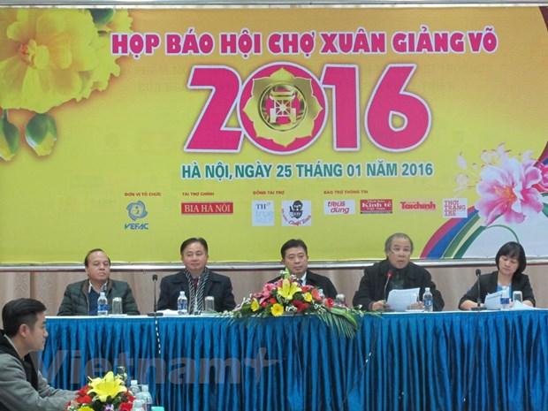 Tai hien Tet xua va tro choi dan gian trong Hoi cho Xuan 2016 hinh anh 2