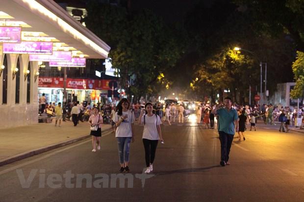 Ha Noi: Khai truong tuyen pho di bo quanh ho Hoan Kiem hinh anh 1