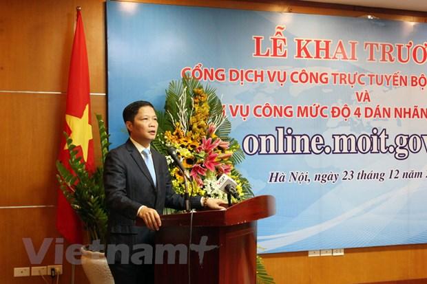 Bo Cong Thuong khai truong dich vu cong muc do 4 dan nhan nang luong hinh anh 2