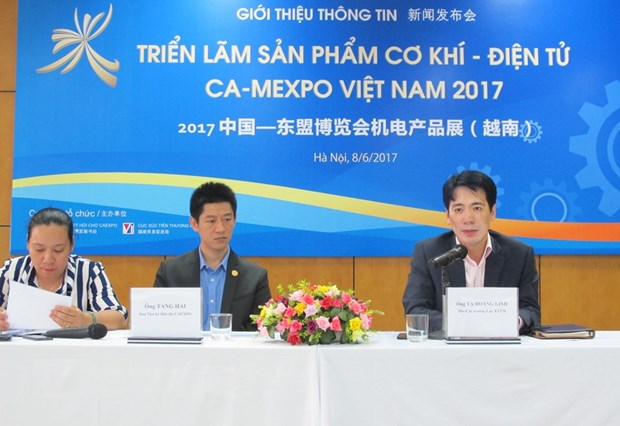 CA-MEXPO: Thuc day hop tac ve cong nghe giua Viet Nam-Trung Quoc hinh anh 1