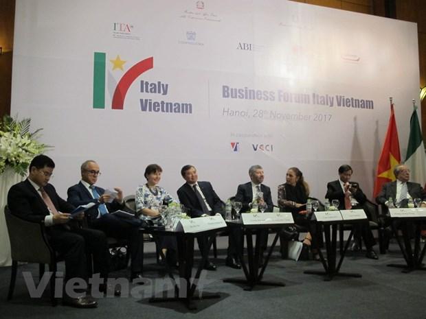 Dien dan doanh nghiep Viet Nam - Italy: Go rao can de cung tien hinh anh 2
