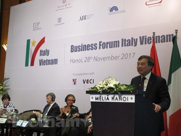 Dien dan doanh nghiep Viet Nam - Italy: Go rao can de cung tien hinh anh 1