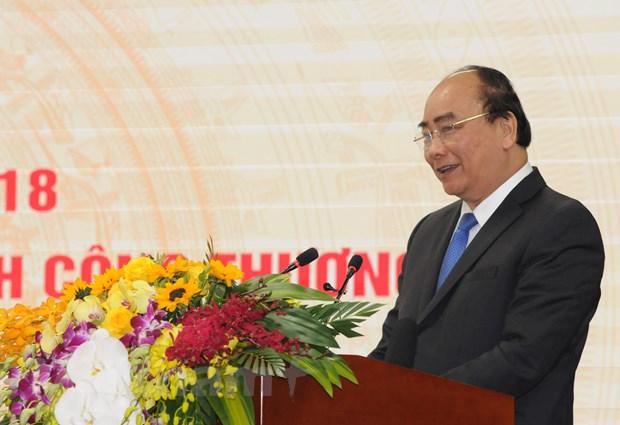Thu tuong Nguyen Xuan Phuc: 'Viet Nam phai la cong xuong cua the gioi' hinh anh 1