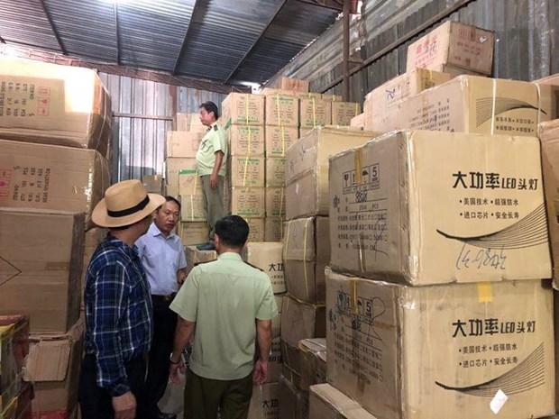 Thanh pho Ho Chi Minh: Phat hien luong lon hang lau, cam kinh doanh hinh anh 1