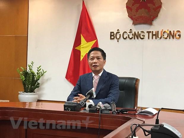 Bo truong Cong Thuong: EVFTA giup huong toi phon vinh, tien bo xa hoi hinh anh 1