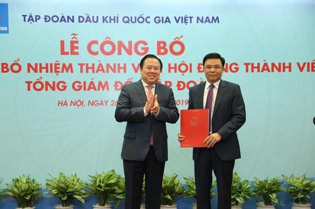 Chinh thuc bo nhiem Tong Giam doc Tap doan Dau khi Viet Nam hinh anh 1