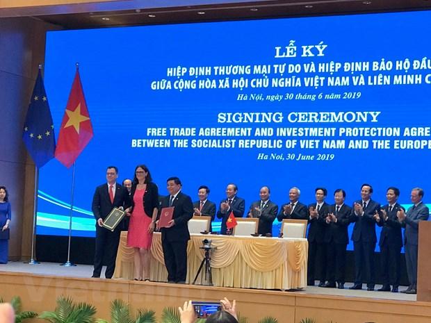 EVFTA: 'Chia khoa' de doanh nghiep Viet tham gia chuoi gia tri hinh anh 1